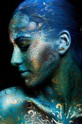 Photo: Yliya Veсmanova Make up: Felix ShteinHair : lubov KamenkovaModel: Sabina Zdesenko