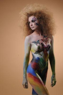 Make up: Felix ShteinPhotografer: Arkady BronshteinModel: Ira