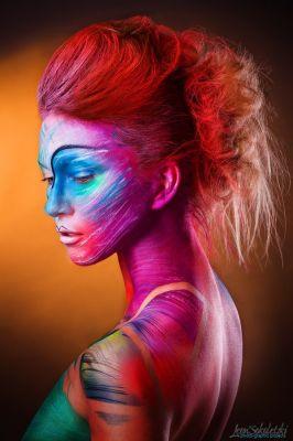 Idea and makeup: Felix ShteinHair: Anastasia PyzhikModel: Анастасия КочегуроваPhotography and Retouch: Leon SokoletskiLine Producer: Ekaterina Natochina